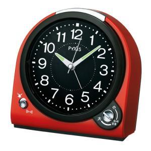 SEIKO セイコー 目覚まし時計/PYXIS ピクシス 赤 NQ705R(取寄せ/代引不可)|ajewelry