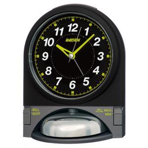 SEIKO(セイコー)クオーツ 目覚まし時計/PYXIS RAIDEN ライデン 大音量ベル音アラーム/NR436J(取)|ajewelry