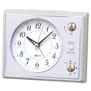 SEIKO(セイコー)/マルチサウンドアラーム 目覚まし時計 メロディ付き ピンク NR445H(取寄せ/代引不可)|ajewelry