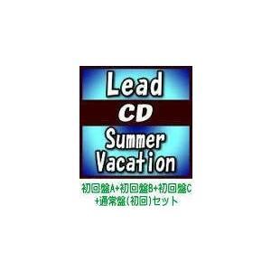 4種セット(取) Lead CD+DVD/Summer Vacation 19/7/24発売 オリコン加盟店|ajewelry