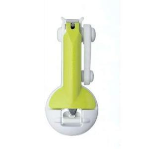 日本製/GREEN BELL ルーペ付き ステンレス製 深爪防止つめきり 爪切り ルーペ倍率3倍 QQ-07/880194 (取)パール ajewelry