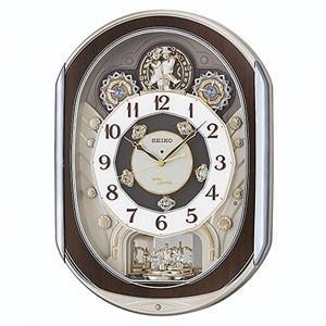 SEIKO(セイコー)  電波掛け時計 からくり時計/回転飾り メロディ付き RE578B(取寄せ/代引不可)|ajewelry