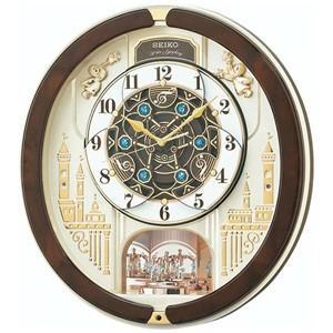 SEIKO(セイコー)  電波掛け時計 からくり時計/回転飾り メロディ付き RE579B(取寄せ/代引不可)|ajewelry