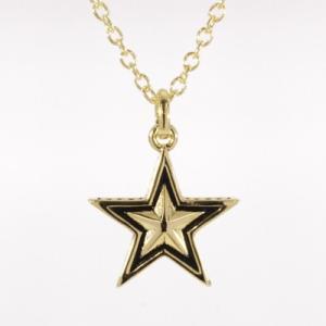 Roen BLACK(ロエン ブラック)/スター 星 ペンダント 真鍮 ゴールドカラー RO-606(取寄せ/代引不可)|ajewelry|02