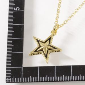 Roen BLACK(ロエン ブラック)/スター 星 ペンダント 真鍮 ゴールドカラー RO-606(取寄せ/代引不可)|ajewelry|05