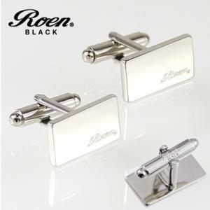 Roen BLACK(ロエン ブラック)/カフス ロゴ ブラス 真鍮 ROT-101(取寄せ/代引不可)|ajewelry