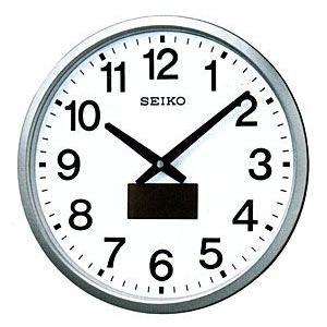 セイコー SEIKO/ハイブリッドソーラー電波掛け時計 32.5cmの大型サイズ掛時計 SF242S(取寄せ/代引不可) ajewelry