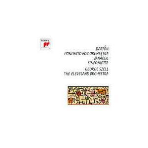 クラッシック名盤シリーズ ジョージ・セル CD/バルトーク:オーケストラのための協奏曲/ヤナーチェク:シンフォニエッタ 21/8/25発売 オリコン加盟店|ajewelry