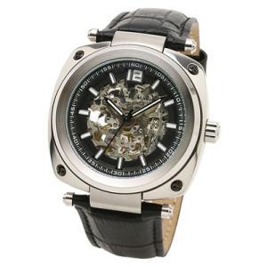 Salvatore Marra(サルバトーレマーラ) メンズウォッチ/2WAY 腕時計 懐中時計 自動巻き ブラック SM18114-SSBK(取寄せ/代引不可)|ajewelry|02