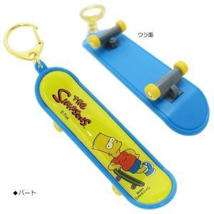 プラスト ティーズファクトリー/シンプソンズ スケボーキーホルダー スケートボード型(取寄せ/代引不可/ギフト不可)|ajewelry|02