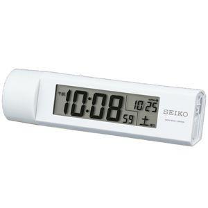SEIKO セイコー 防災クロック/LEDライト付き 電波目覚まし時計 SQ765W (取寄せ/代引不可)|ajewelry