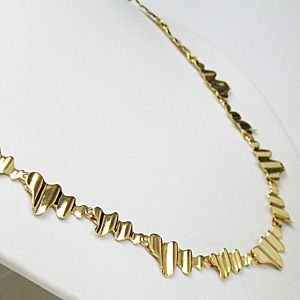 K18 地金ネックレス/ゴールド ネックレス(代引不可)|ajewelry