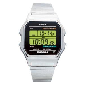 TIMEX(タイメックス) ウォッチ/クラシック デジタル シルバー T78587(取寄せ/代引不可)|ajewelry