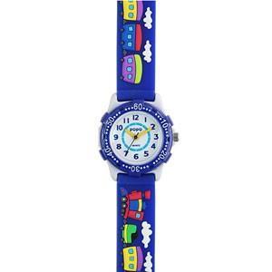サンフレイム キッズウォッチ 子供用/汽車 のりもの ブルー TCL22-BL(取寄せ/代引不可)|ajewelry