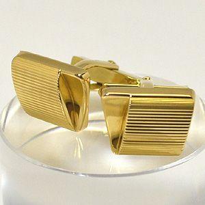 K18ゴールド カフスボタン  K18ゴールドの西ドイツ製カフスボタンです。 ヨーロッパの香り漂う趣...
