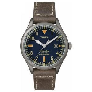 TIMEX(タイメックス) ウォッチ/ウォーターベリー S.B.Foot Leather ミッドサイズ TW2P84400(取寄せ/代引不可)|ajewelry