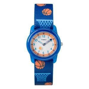 TIMEX(タイメックス) キッズウォッチ/タイムマシーンコレクション タイムティーチャー/バスケットボール ネイビー TW7C16800(取寄せ/代引不可)|ajewelry
