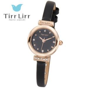 Tirr Lirr(ティルリル) レディスウォッチ/JewelryWatch ジュエリーウォッチ/キュービック ブラック TWC-001BK(取寄せ/代引不可)|ajewelry