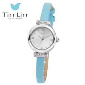 Tirr Lirr(ティルリル) レディスウォッチ/JewelryWatch ジュエリーウォッチ/キュービック ライトブルー TWC-001BL(取寄せ/代引不可)|ajewelry