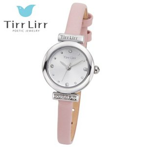 Tirr Lirr(ティルリル) レディスウォッチ/JewelryWatch ジュエリーウォッチ/キュービック ピンク TWC-001PK(取寄せ/代引不可)|ajewelry
