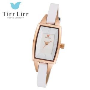 Tirr Lirr(ティルリル) レディスウォッチ/JewelryWatch ジュエリーウォッチ/ホワイト TWC-003WH(取寄せ/代引不可)|ajewelry