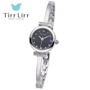 Tirr Lirr(ティルリル) レディスウォッチ/JewelryWatch ジュエリーウォッチ/キュービック シルバー TWC-101RH(取寄せ/代引不可)|ajewelry