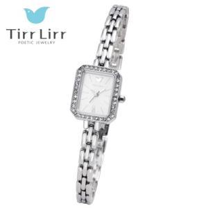 Tirr Lirr(ティルリル) レディスウォッチ/JewelryWatch ジュエリーウォッチ/キュービック シルバー TWC-102RH(取寄せ/代引不可)|ajewelry