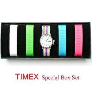 TIMEX(タイメックス) ウォッチ/ウィークエンダーセントラルパーク スペシャルボックスセット ミッドサイズ UG0100(代引不可)|ajewelry