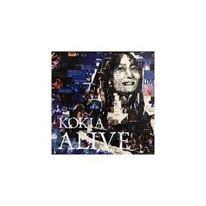 初回限定盤(取/代引不可) KOKIA 2CD/ALIVE -The live history- 19/4/29発売 オリコン加盟店 ajewelry