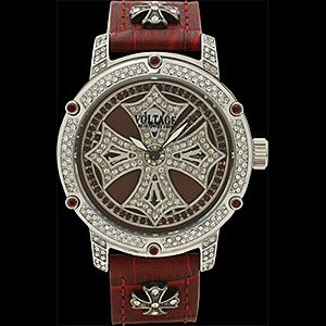 VOLTAGE(ヴォルテージ) 腕時計 ウォッチ/SPARK (スパーク) レッド VO-019S-16/RD (取寄せ/代引不可)|ajewelry