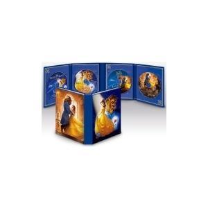 期間限定(取)(代引不可)ディズニー 2Blu-ray+2DVD/美女と野獣 MovieNEX コレクション(実写版&アニメ版) 18/9/5発売 オリコン加盟店|ajewelry