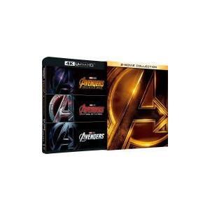 初回生産限定(取) 洋画 4K ULTRA HD+3DBlu-ray+2Blu-ray/アベンジャーズ/インフィニティ・ウォー4K UHD ムービー・コレクション 18/9/5発売