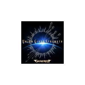 初回限定盤(取) DVD付 スリーブケース GALNERYUS CD+DVD/UNION GIVES STRENGTH 21/6/16発売 オリコン加盟店 ajewelry