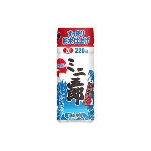 ミニ五郎 20度 220ml ペットボトル ajima-saketen