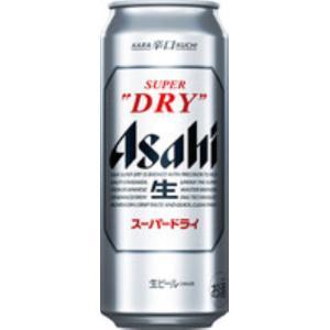 ビール アサヒスーパードライ 500ml 缶/24本入|ajima-saketen