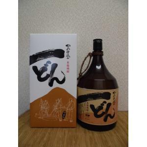 焼酎  一どん 芋焼酎 おすすめ 25度 1.8L瓶 鹿児島県 芋|ajima-saketen
