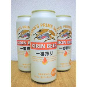ビール キリン一番搾り 500缶 6本パック|ajima-saketen