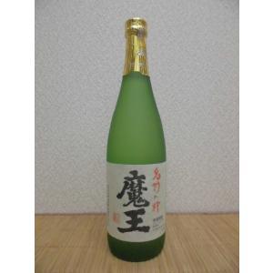 焼酎 プレミアム 魔王 芋焼酎 おすすめ 25度 720ml瓶 鹿児島県 芋|ajima-saketen