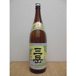 焼酎 三岳 芋焼酎 おすすめ 25度 1.8L瓶 鹿児島県 芋|ajima-saketen