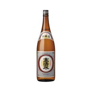 日本酒 高清水 本醸造 1.8L瓶 秋田県|ajima-saketen