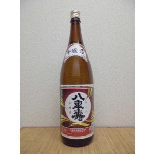日本酒 八重寿 本醸造 1.8L瓶 秋田県|ajima-saketen