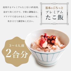MarkA 基本のごろっとプレミアムたこ飯 タコ飯 マダコ 炊き込み ご飯|ajirushishop