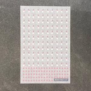 西日本ドア表記インレタ(1/80スケール)|ajisaitei