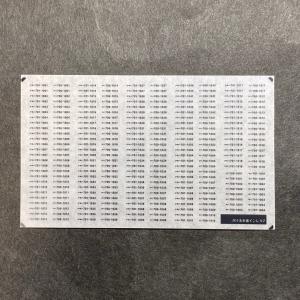 鉄コレ26弾向け車番インレタ。2は盛岡仙台の1000、1500番台が中心。3セク転属によりJRとして...