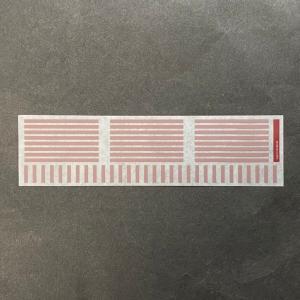 227系「REDWING」帯インレタ(広島227系0番台帯)・6両分+α(TOMIX製品寸法対応) ajisaitei