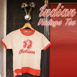 ajito Indian Motorcycle インディアン モーターサイクル ヴィンテージ Tシャツ バイカー ファッション ビンテージ 半袖 チャンピオン アメリカン 古着|ajito