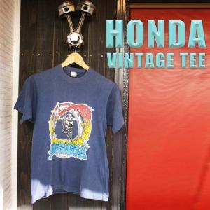 ajito HONDA Motorcycle TEE VINTAGE ホンダ ロゴ モトクロス モーターサイクル ヴィンテージ Tシャツ バイカー ファッション ビンテージ 半袖 アメリカン 古着|ajito
