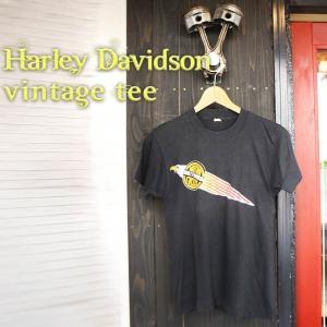 ajito HARLEY DAVIDSON VINTAGE TEE ハーレー ダヴィッドソン ロゴ ヴィンテージ イーグル Tシャツ古着 ビンテージ ダビッドソン|ajito