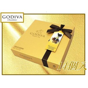 (GODIVA ゴディバ)  ゴールドアソート チョコレート14個入り詰め合わせ/ベルギー/チョコ/バレンタイン/|ajmart