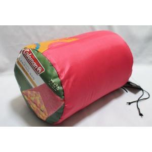 (コールマン寝袋) 軽量!coleman コールマン Coleman 寝袋 キッズ子供用寝袋 ジュニア用 10℃キッズ寝袋 ピンク|ajmart